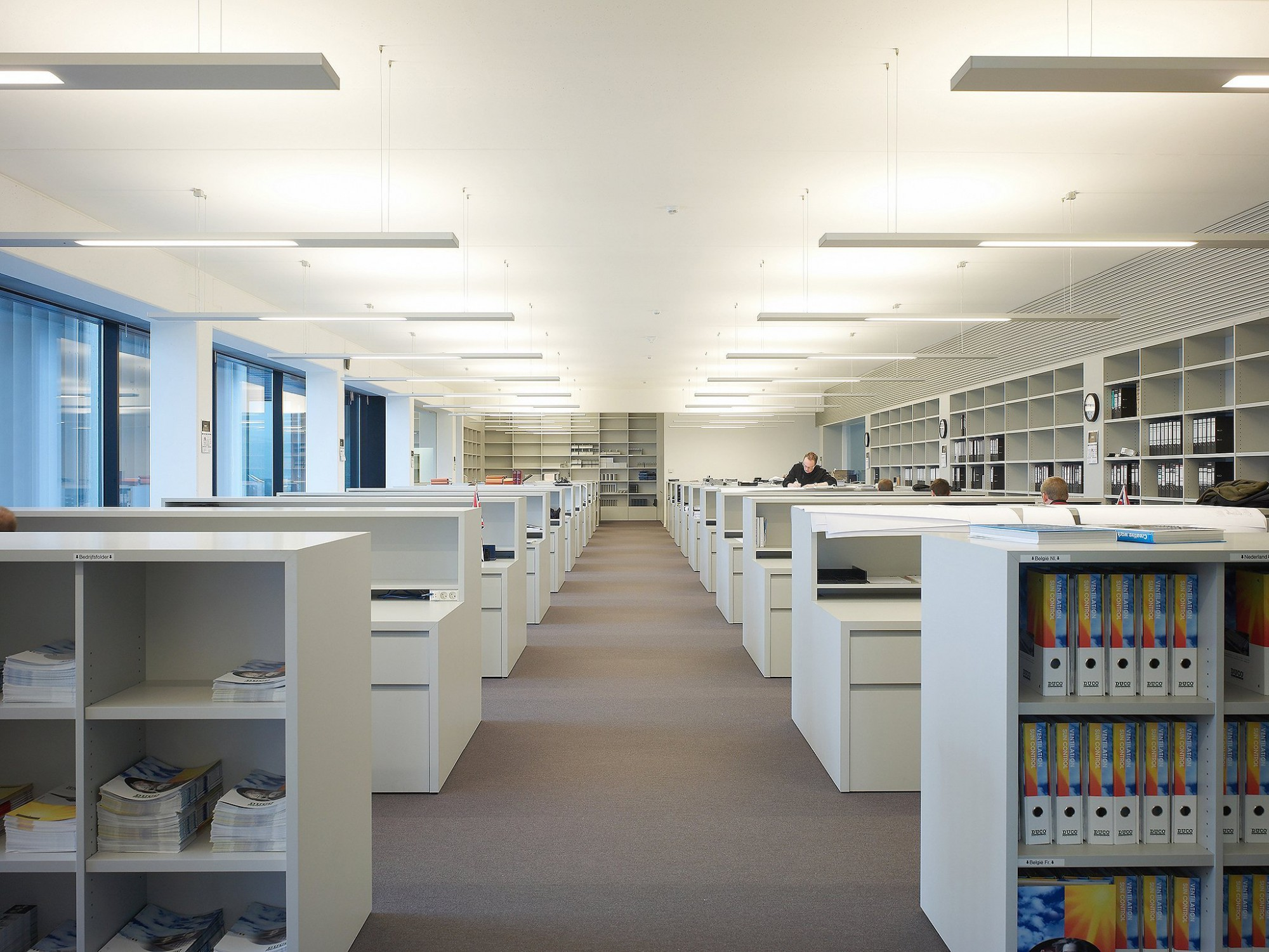 Afbeelding: Interieur fotografie landschapskantoor te Veurne voor Bolckmans.
