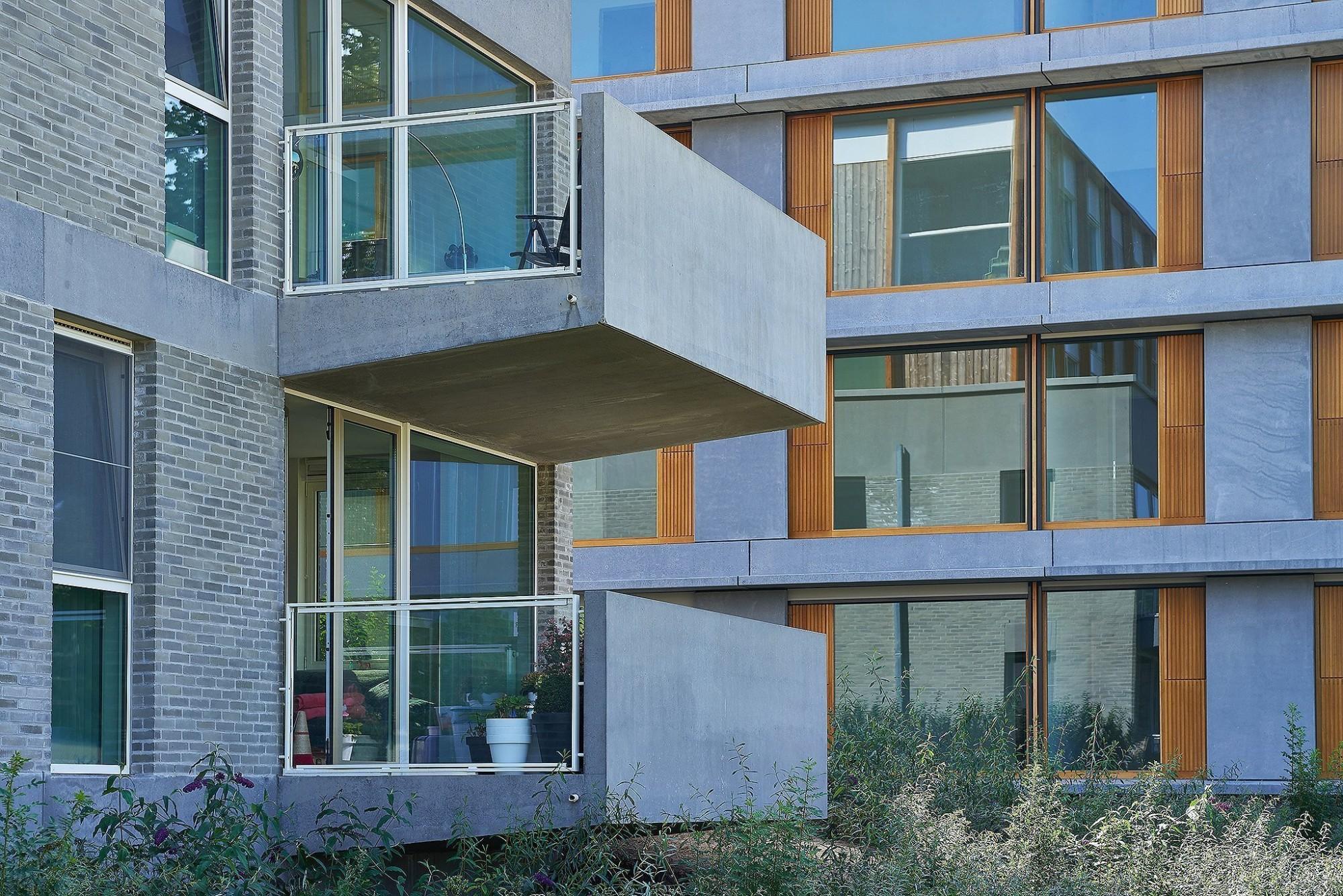 Afbeelding: Architectuur fotografie Foto Van Huffel, appartementen Bouchout Midden, voor DCA.