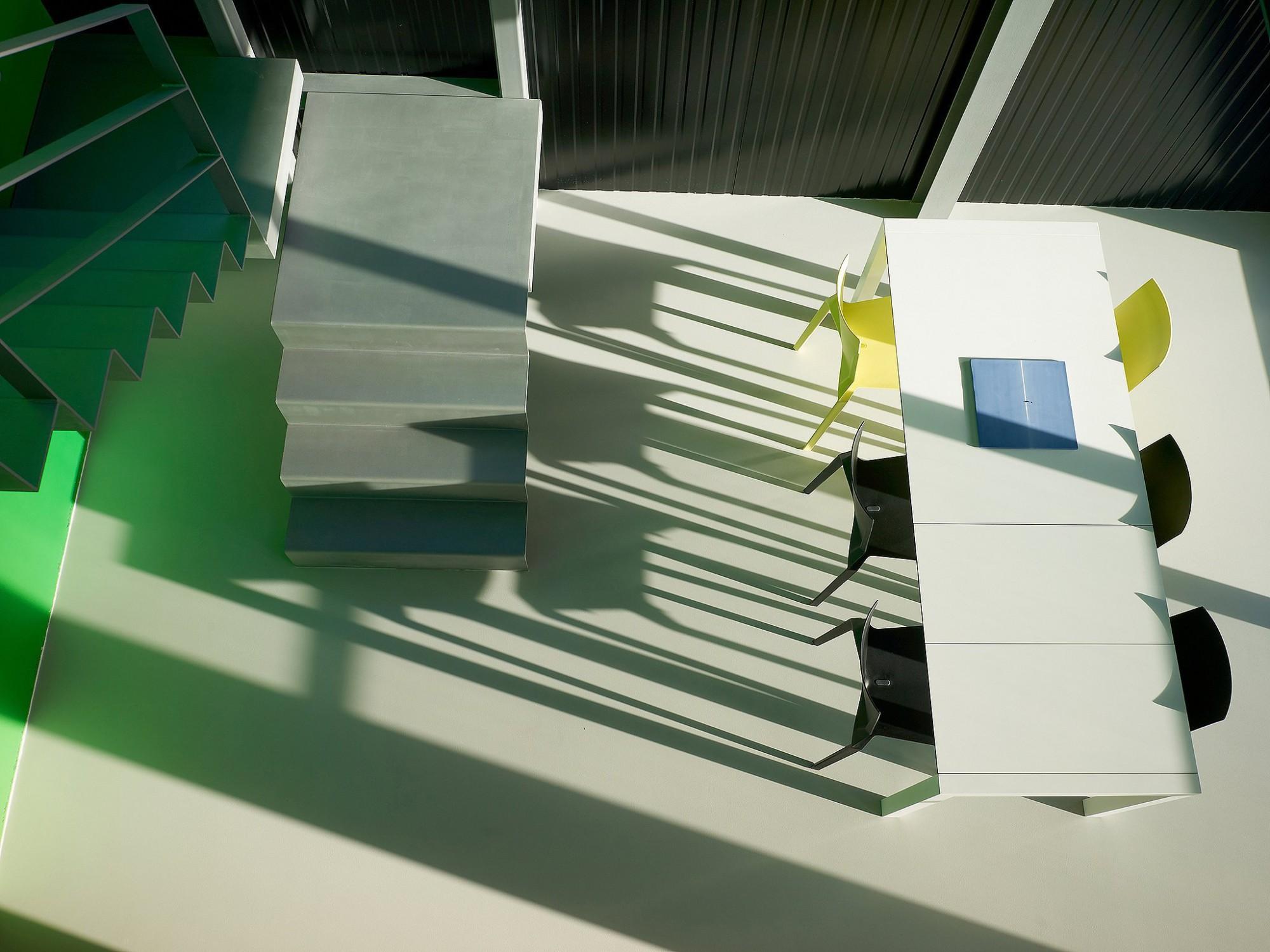 Afbeelding: Fotografie interieur te Mal voor © BVV architecten.