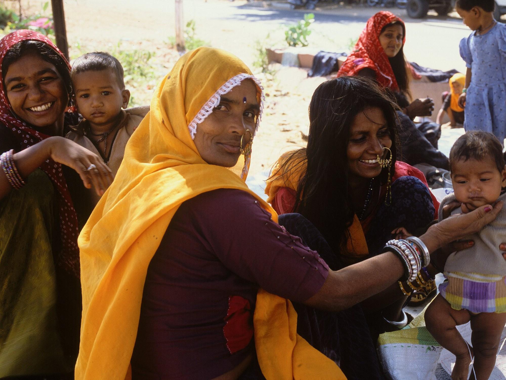 Afbeelding: Reisfotografie Dominique Van Huffel, India.