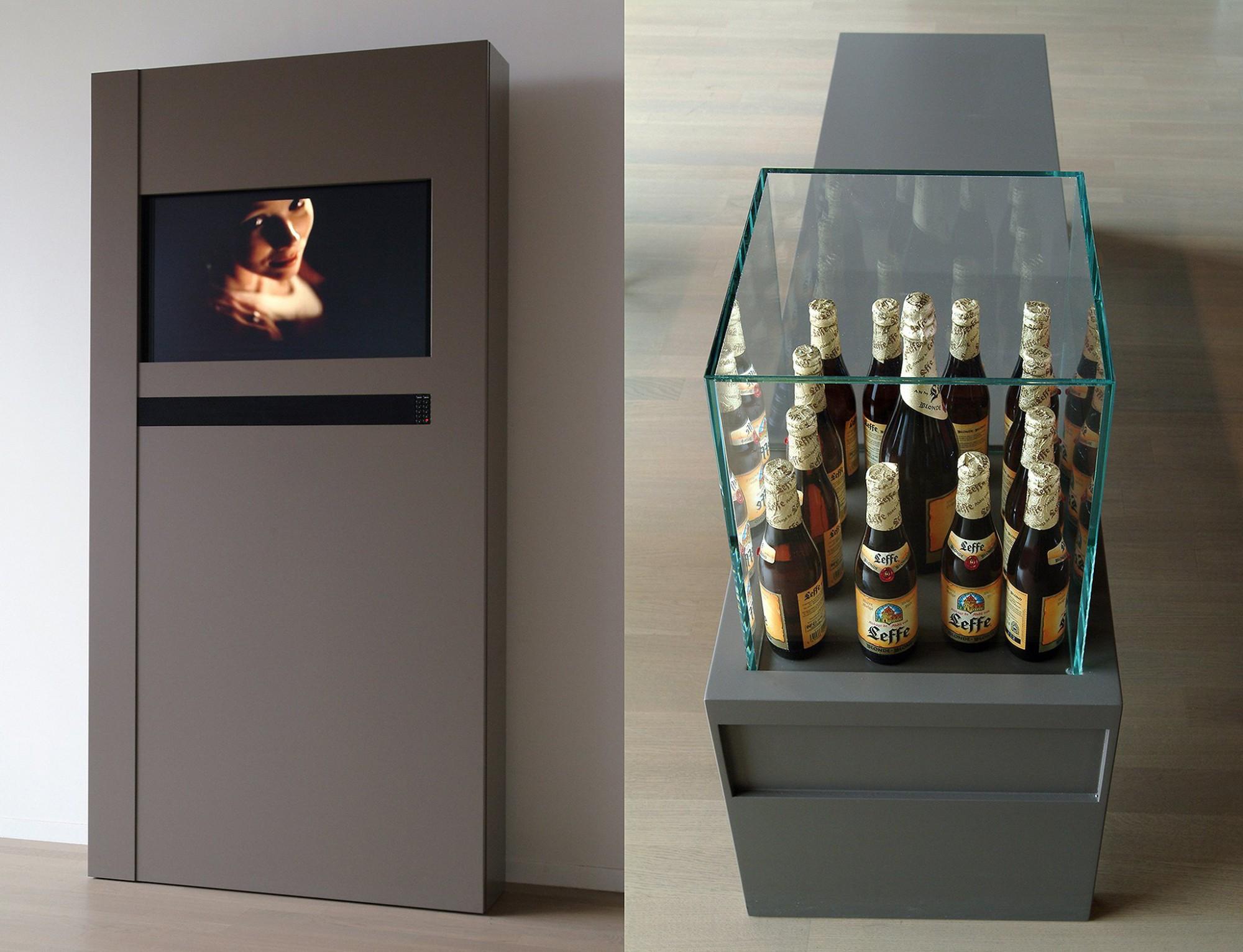Afbeelding: Interieur fotografie, details meubels voor kantoor Inbev te Leuven voor Vanhout.pro