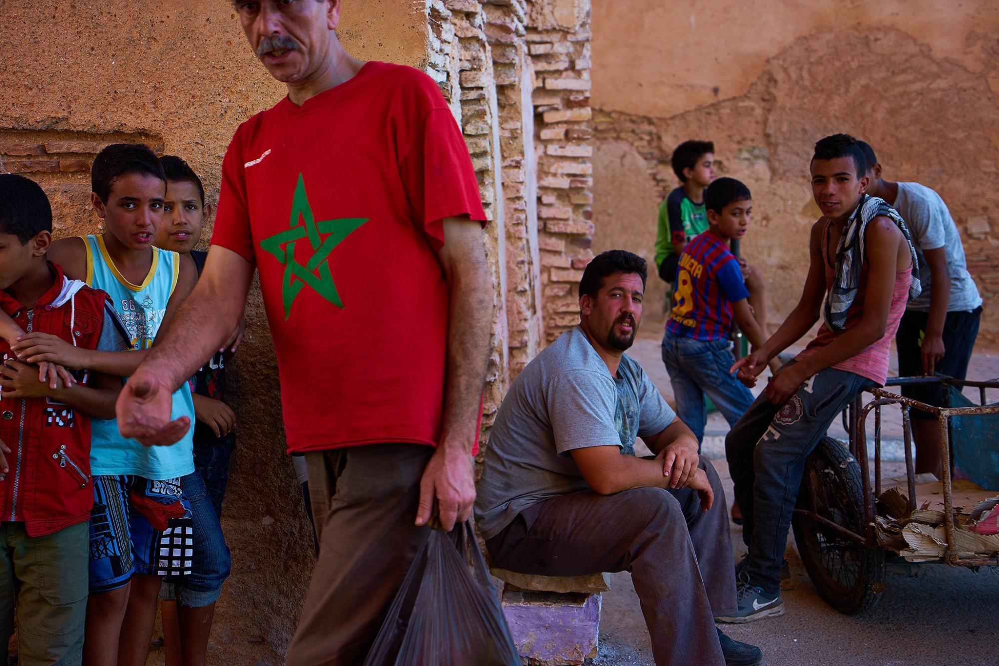 Afbeelding: Dominique Van Huffel, reisreportage, Marokko, Fez.