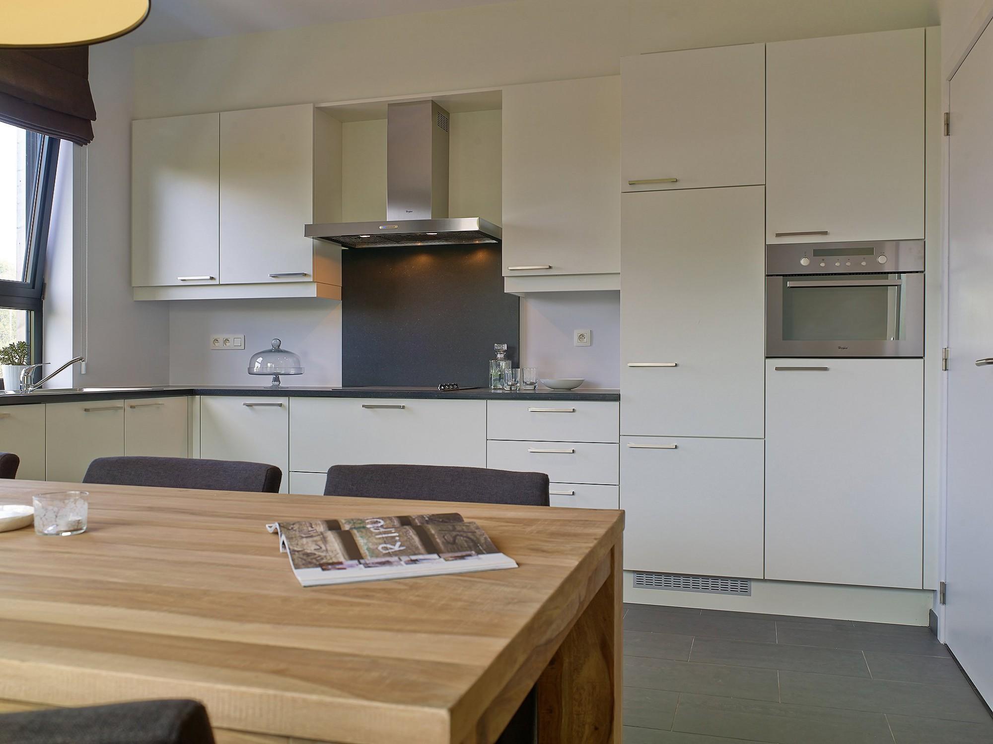 Afbeelding: Fotografie interieur keuken modelappartement CW projects.