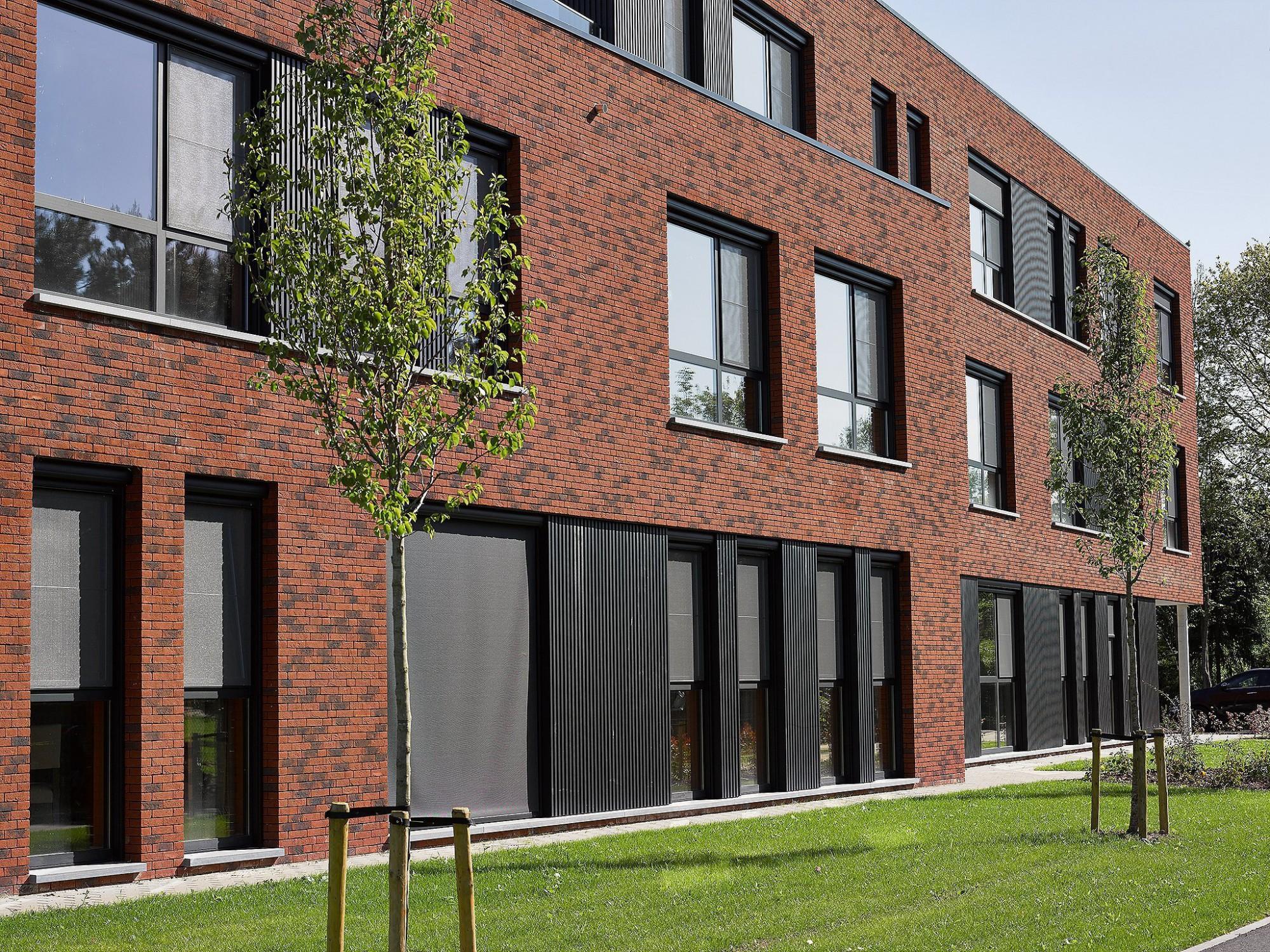 Afbeelding: Fotografie architectuur Foto Van Huffel, woonzorgcentrum Perwijshof Westerlo,© EON architecten, voor groep Van Roey.