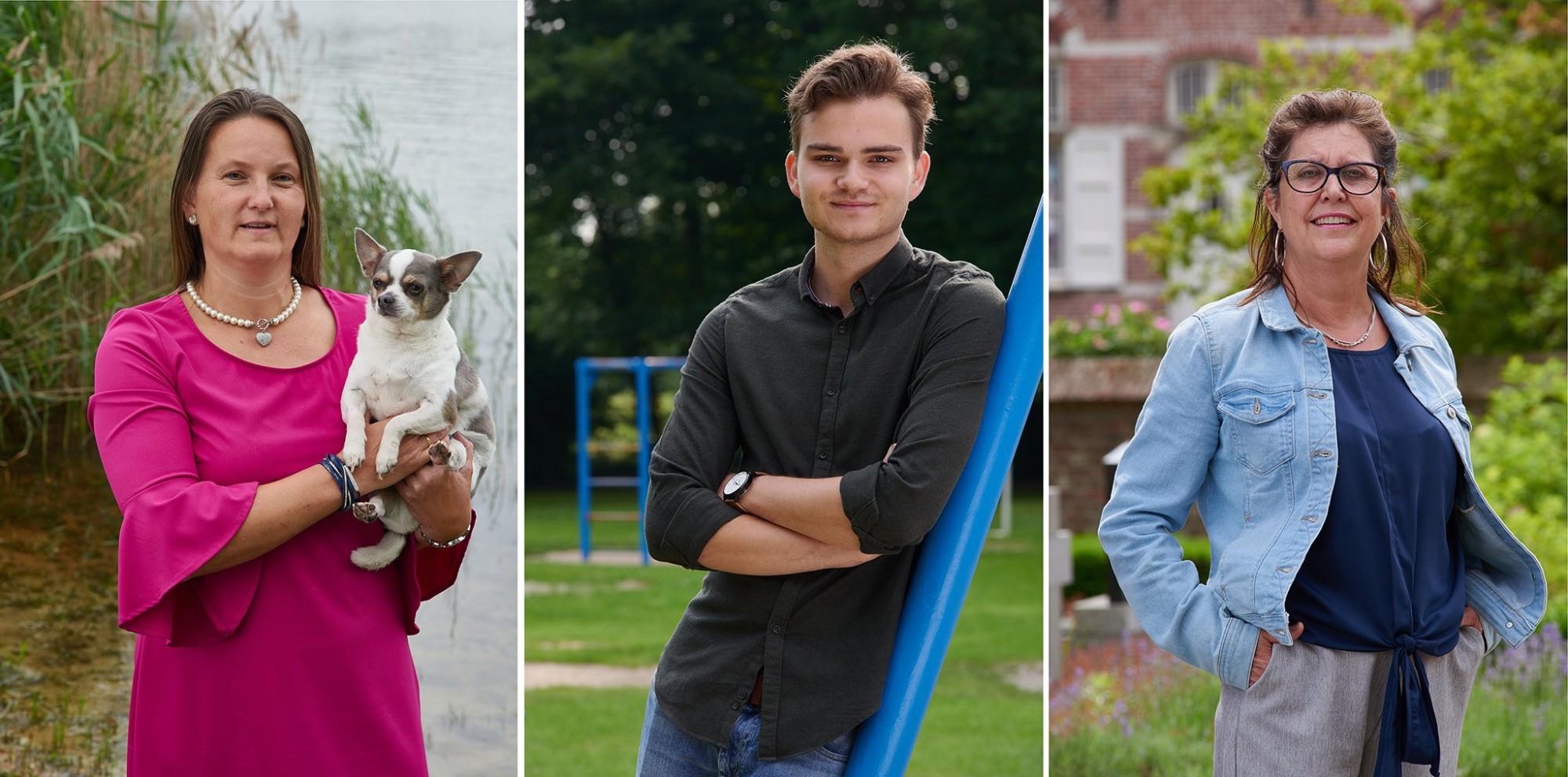 Afbeelding: Profielfoto op locatie voor verkiezingscampagne Hoogstraten Leeft.