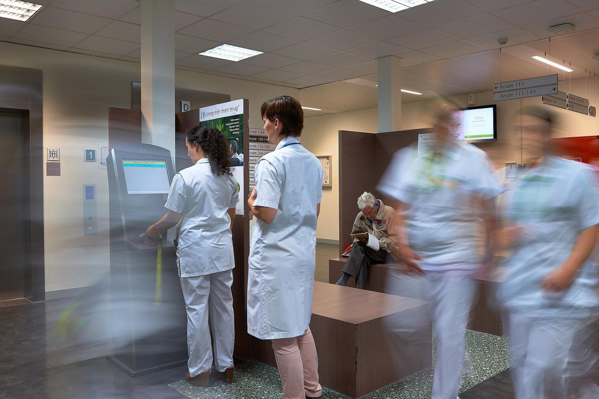 Afbeelding: Registratie technieken in hospitalen voor GET, locatie fotografie Leuven.