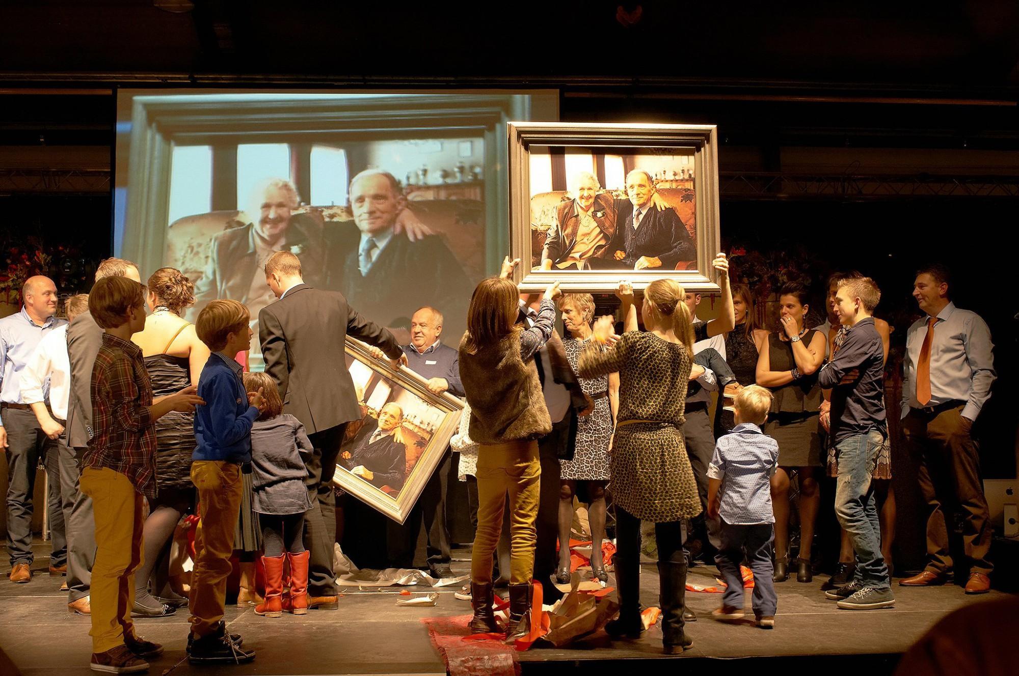 Afbeelding: Bedrijfsfeest 50 jaar Adams te Hoogstraten.