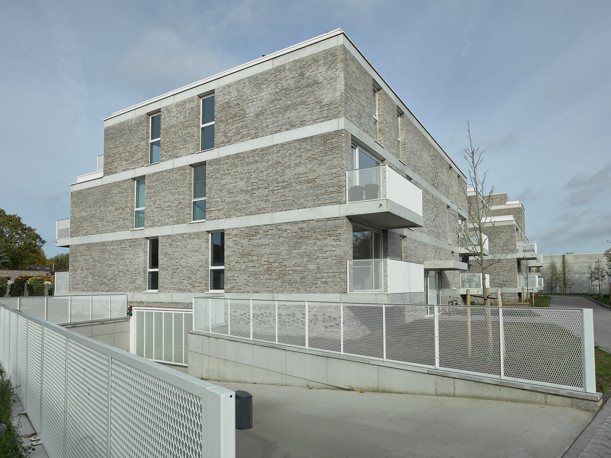 Afbeelding: Sociale woningen voor © atelier M Architects + Planners te Aartselaar.