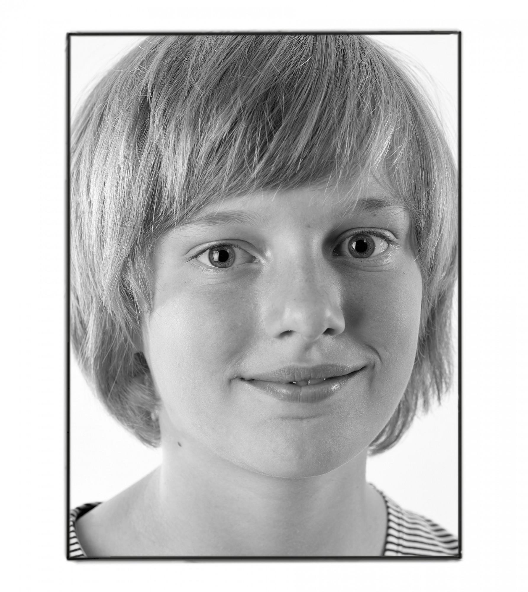 Afbeelding: Portret fotografie studio, foto Van Huffel.