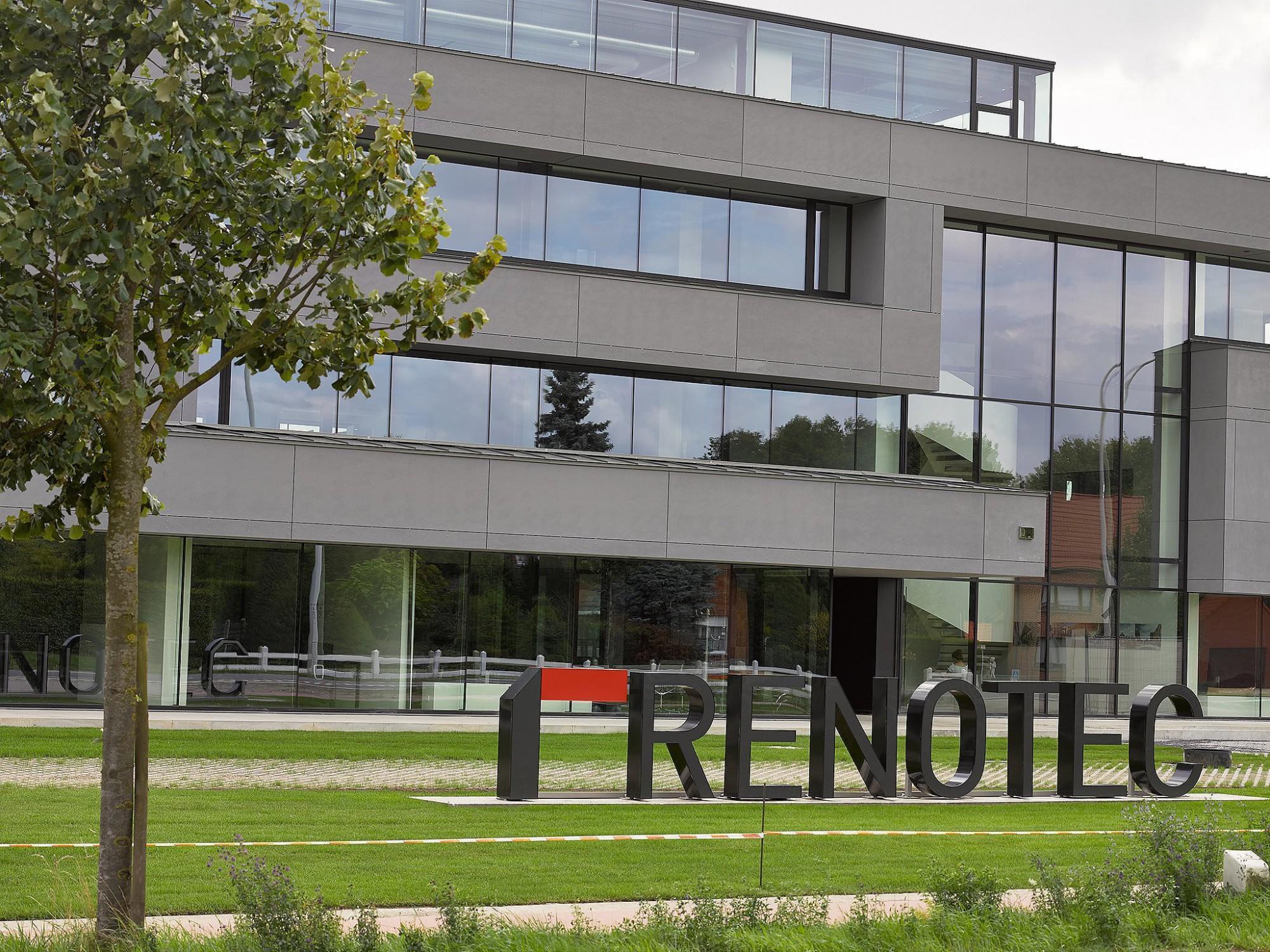 Afbeelding: Architectuur fotografie, kantoorgebouw Geel, voor Renotec.